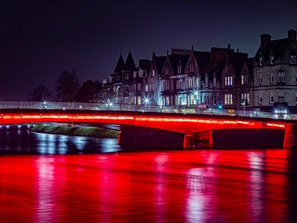 Ness Bridge, Inverness 2018 - Gordon Bain Photography