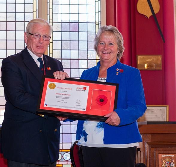 President's Award Winners Inverness C20191025-171435